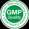 good manufacturing practice certification badge